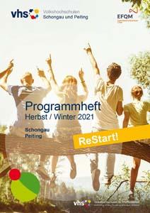 VHS Programmheft Herbst / Winter 2021